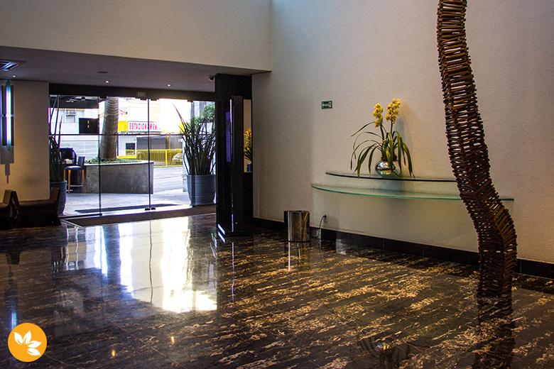 Hotel Pergamon na Rua Frei Caneca