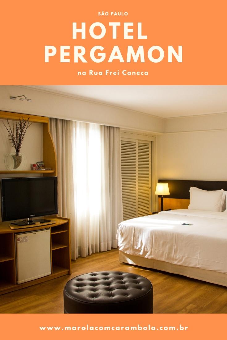 Veja como é se hospedar no Hotel Pergamon na Rua Frei Caneca em São Paulo. Confortável, perto de tudo e com ótimo custo/beneficio.