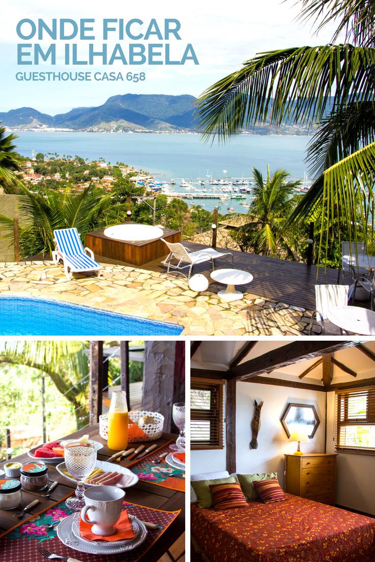 Onde ficar em Ilhabela - Guesthouse Casa 658 (bed & breakfast)