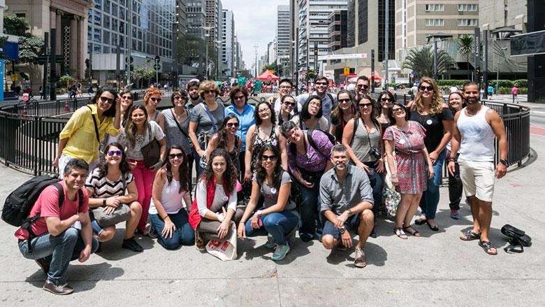Avenida Paulista - Blogueiros no Vem Pra Sampa, Meu!