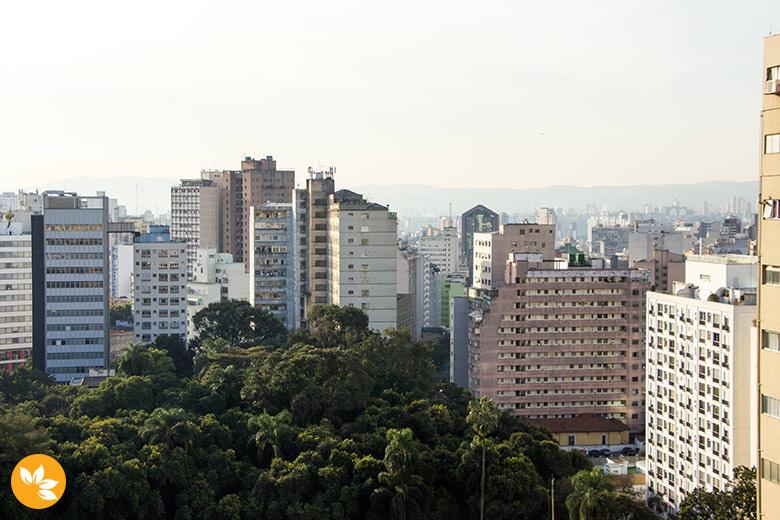 Incrível vista para cidade de São Paulo