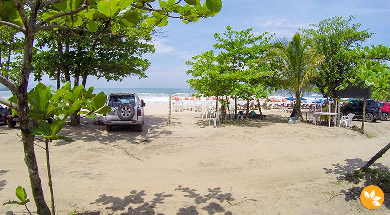 Praia de Castelhanos: Passeio de Jipe Off Road
