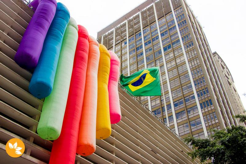 21º Parada LGBT 2017 em São Paulo
