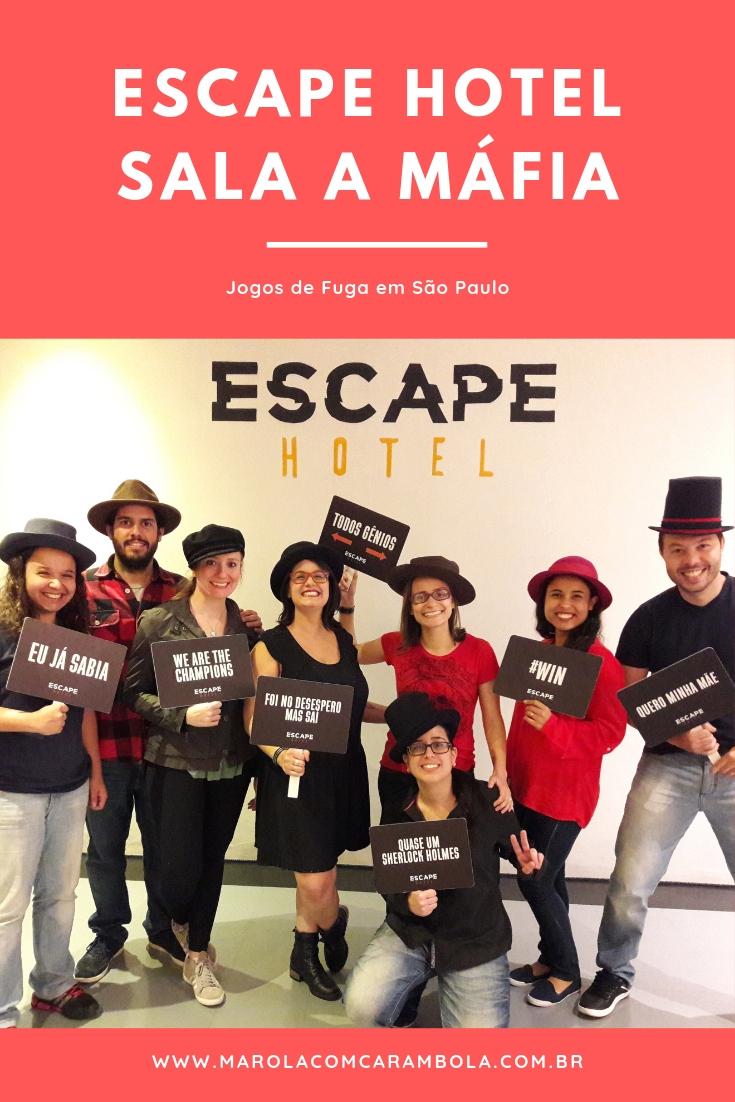 O Escape Hotel acaba de lançar uma nova sala para até 12 participantes. Se você nunca jogou ou vivenciou essa experiência dos Jogos de Fuga, corre!
