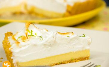 Receita de Torta de Limão com Merengue Italiano