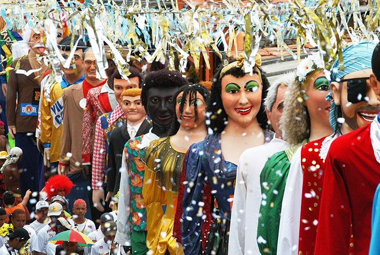Lugares para viajar no carnaval - Olinda