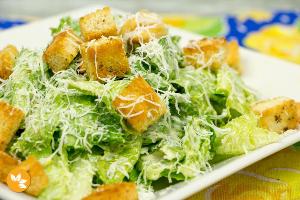 Receita Salada Caesar ou Caesar Salad