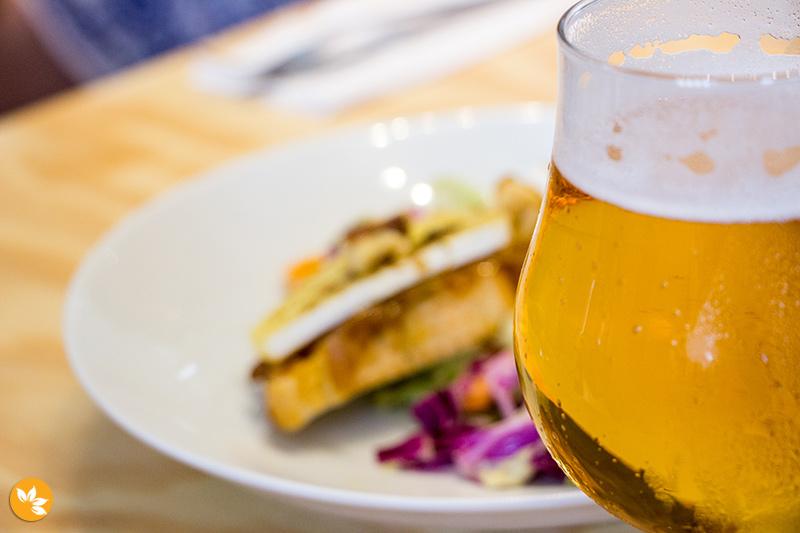 Cervejas no Brasserie Belga