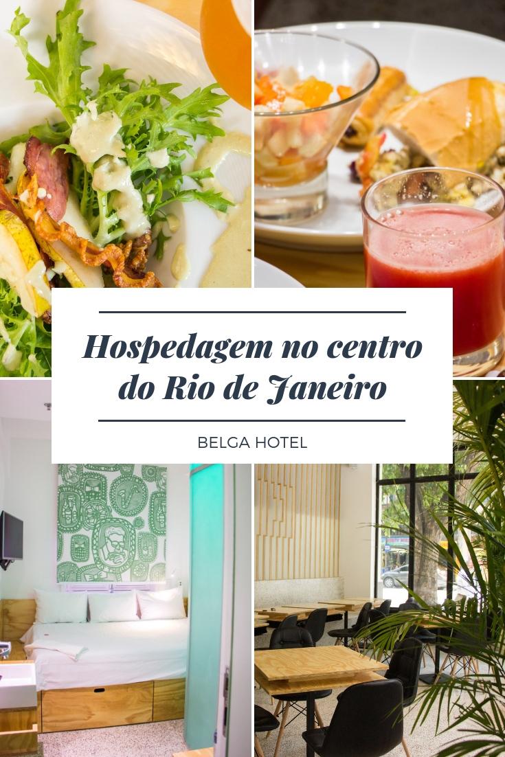 Belga Hotel – Próximo de atrativos como o famoso CCBB, o imponente Museu do Amanhã, o recém inaugurado AquaRio, a deliciosa Confeitaria Colombo, e mais.