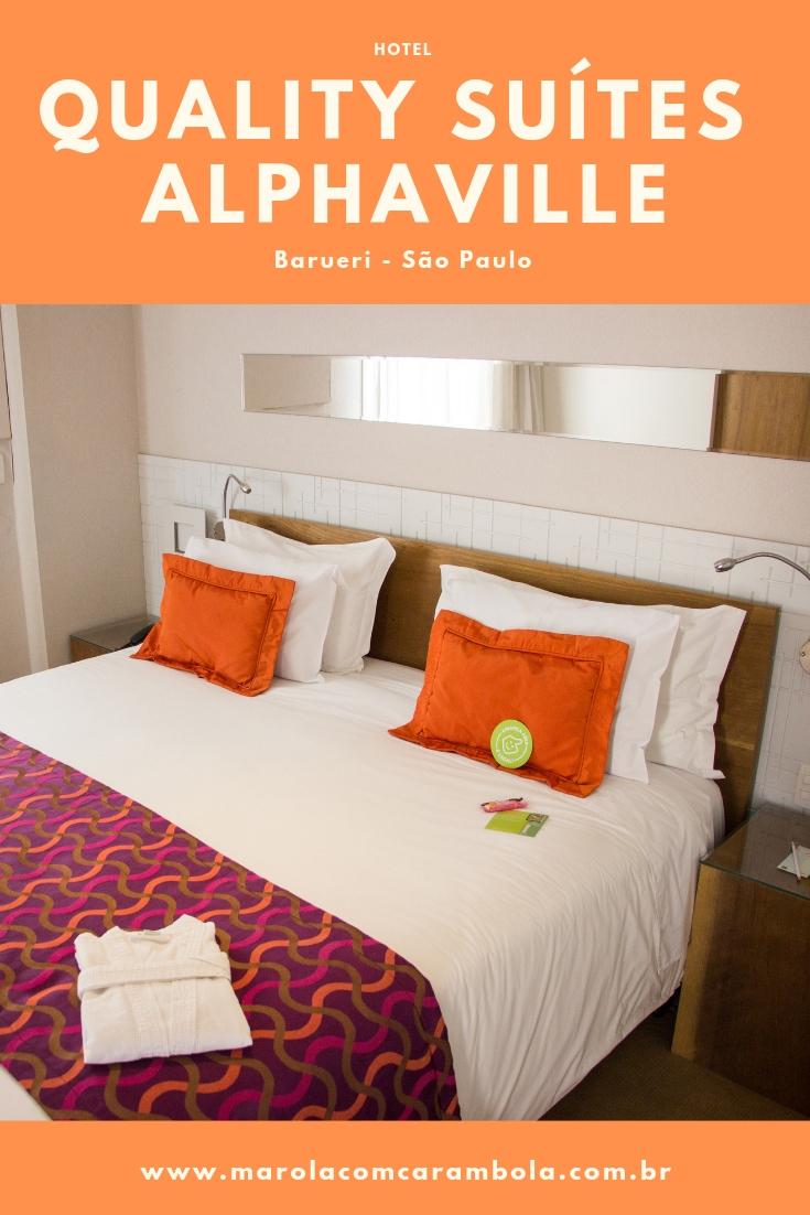 Quality Suítes Alphaville - Hospedagem no centro comercial de Alphaville, com três categorias de quarto e muito comodidade e paparicos.