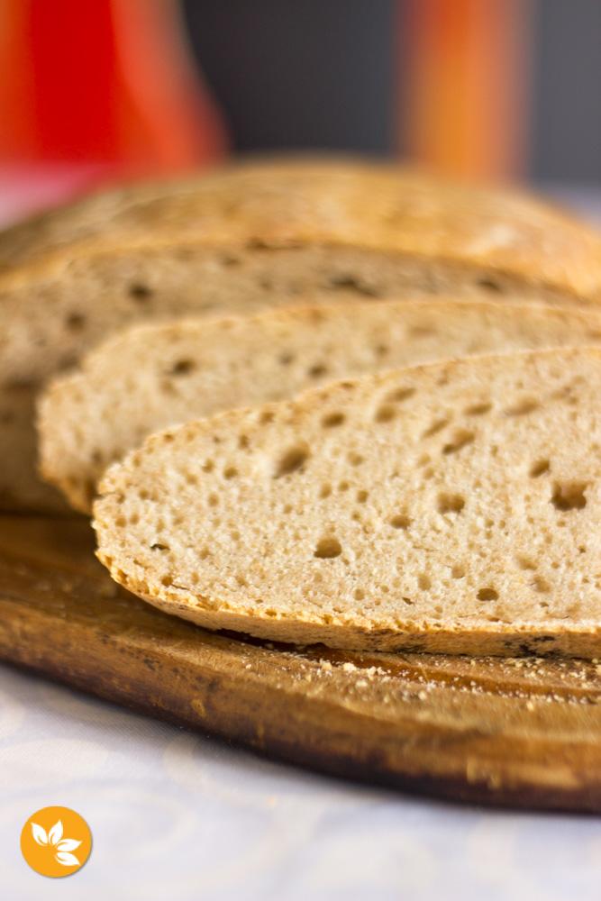 Primeiro pão com Levain