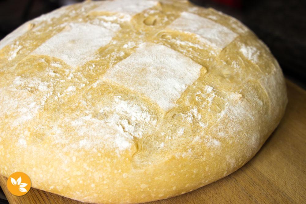 Pão Italiano com Fermentação Natural