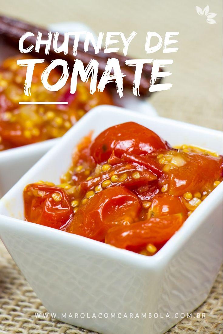 Receita de Chutney de Tomate