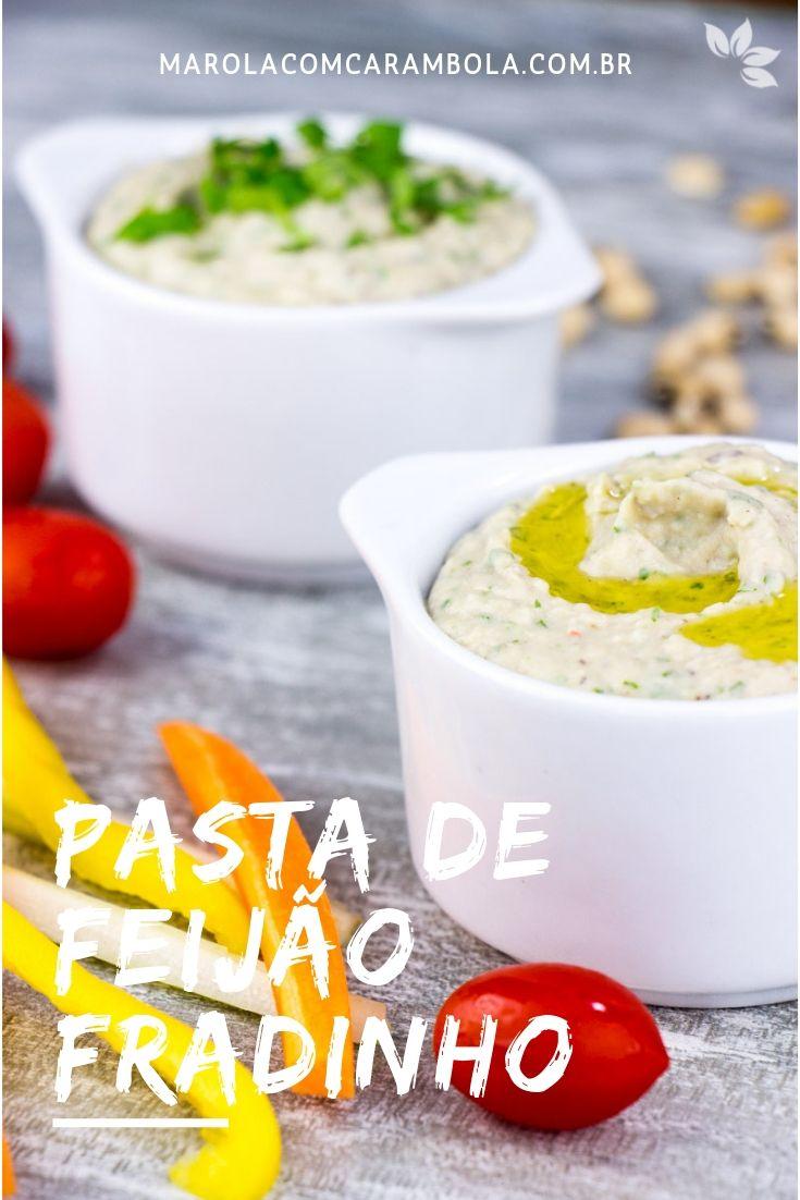 Receita de Pasta de Feijão Fradinho