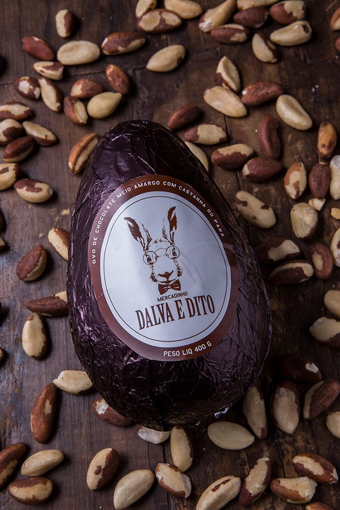 Ovo de Castanha do Pará - Mercadinho Dalva e Dito - Ovos de Páscoa