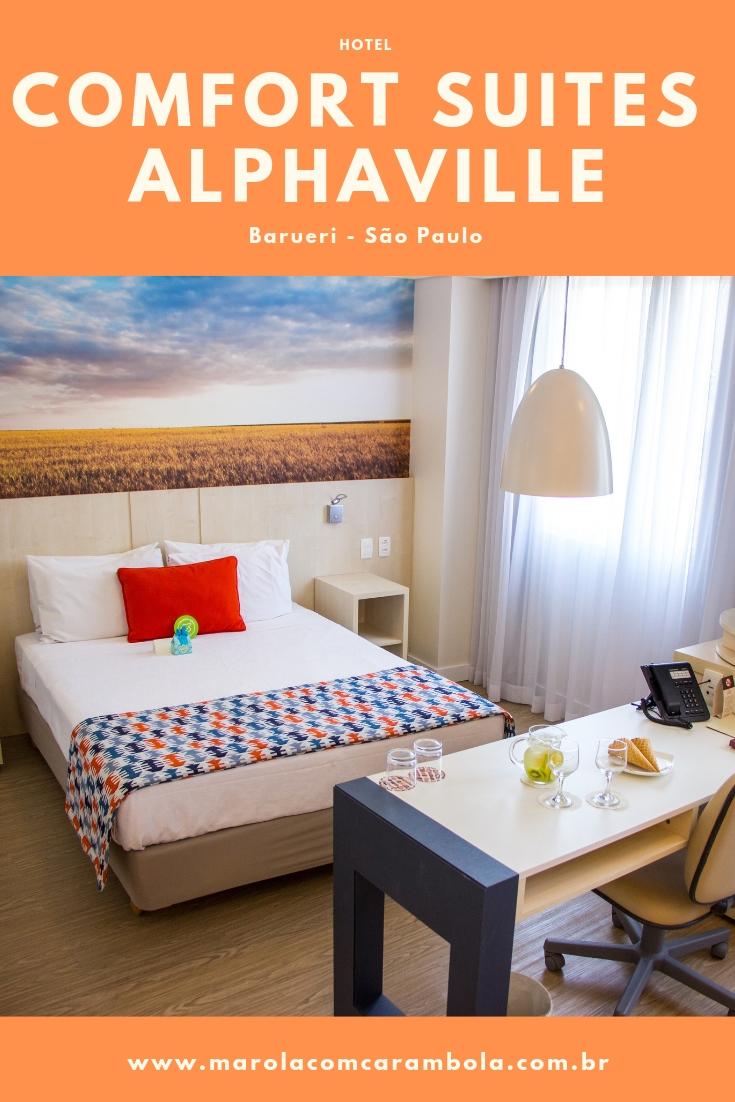 Procurando uma dica de hotel para descansar e fugir um pouco do agito de São Paulo? Nós temos uma ótima recomendação, o Hotel Comfort Suites Alphaville.
