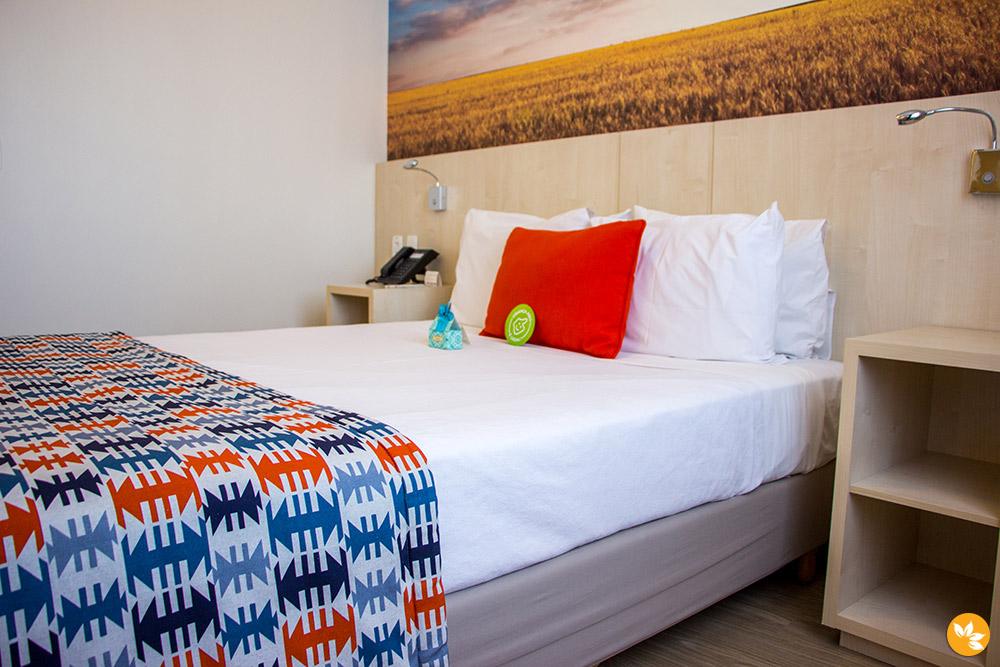 Quarto Executivo - Comfort Suites Alphaville