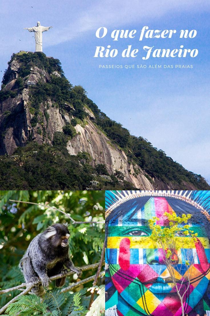 O que fazer no Rio de Janeiro - Parques, museus, mirantes, vistas, bondinho! Uma seleção de passeios para conhecer e curtir o Rio de Janeiro.