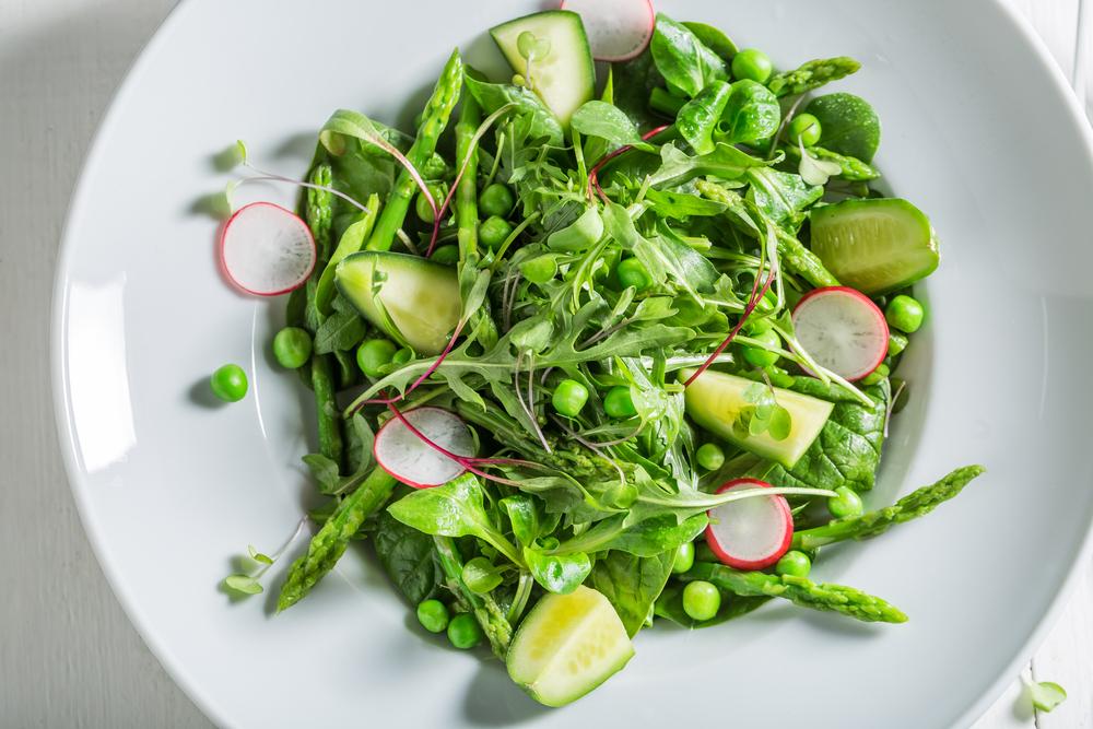 Cardápio inspirado no Filme Sem Reservas - Receita de Salada de Aspargos