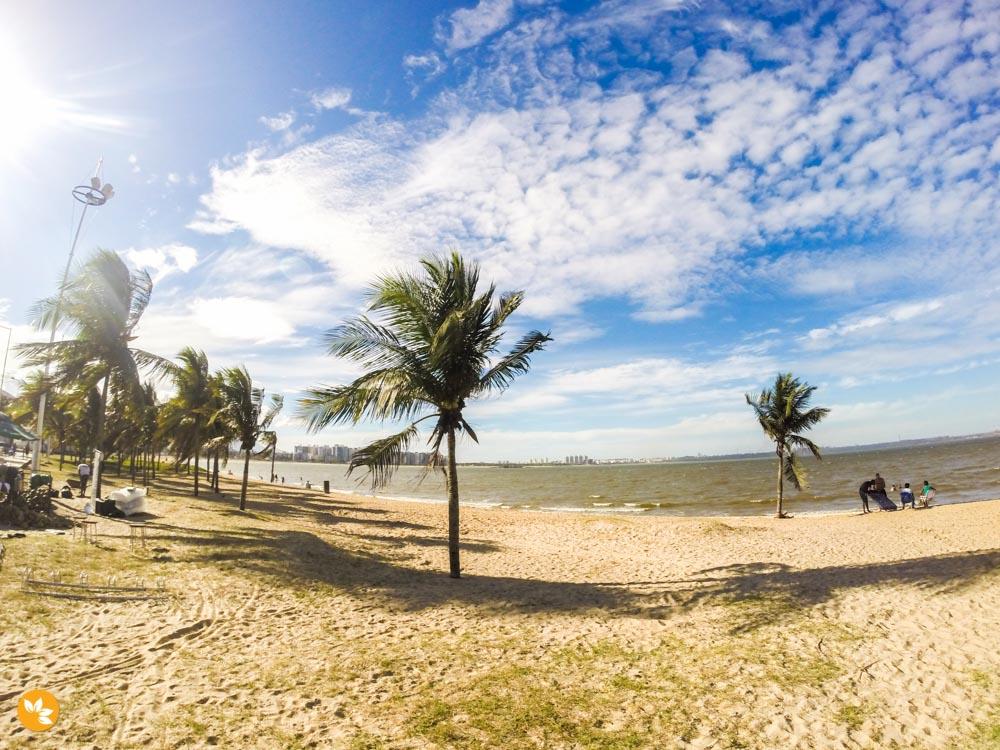 O que fazer em Vitória - Calçadão e Praia de Camburi