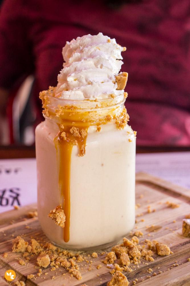 Jack Steak - Milkshake de Paçoca