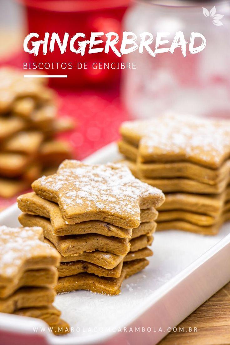 Receita de Gingerbread Biscoito de Gengibre de Natal
