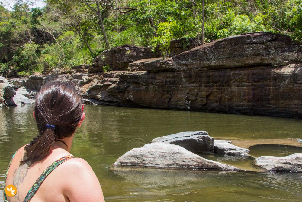 O que fazer na Chapada dos Veadeiros – Cachoeira Morada do Sol
