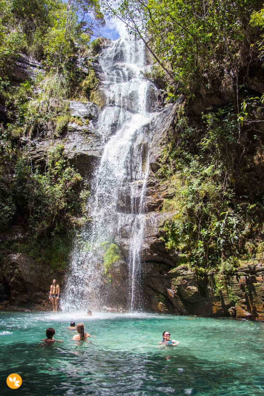 O que fazer na Chapada dos Veadeiros – Cachoeira Santa Bárbara