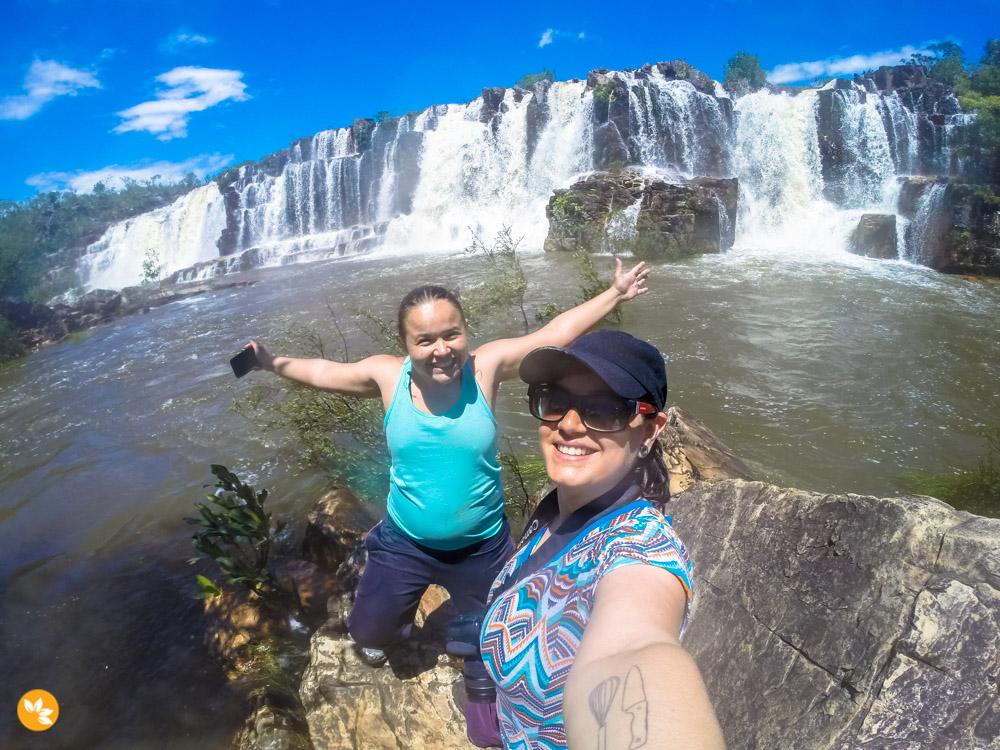 Catarata dos Couros – Cachoeiras com quedas de 100 metros de altura!