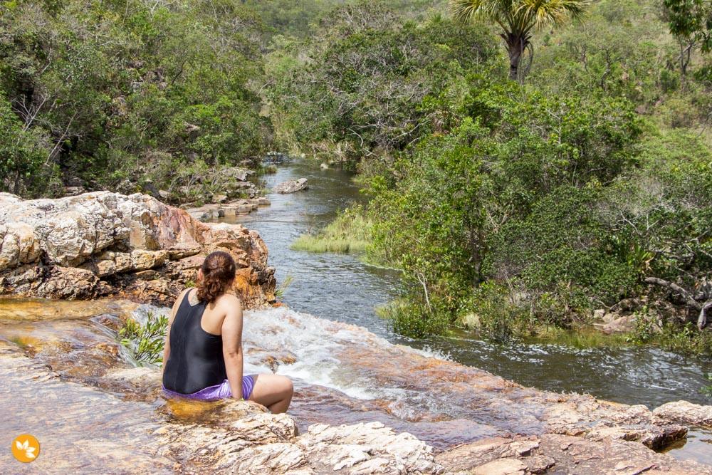 O que fazer na Chapada dos Veadeiros - Cachoeira Almécegas II