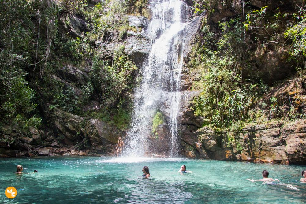 O que fazer na Chapada dos Veadeiros - Cachoeira Santa Bárbara