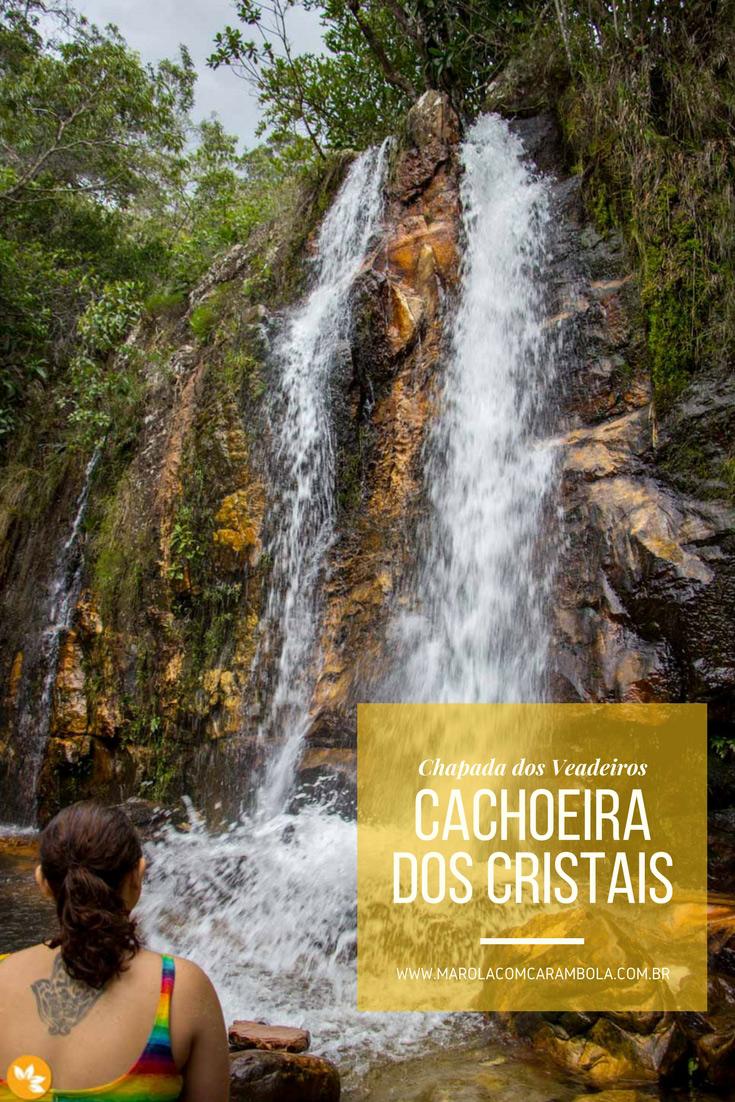 Cachoeira dos Cristais – Chapada dos Veadeiros
