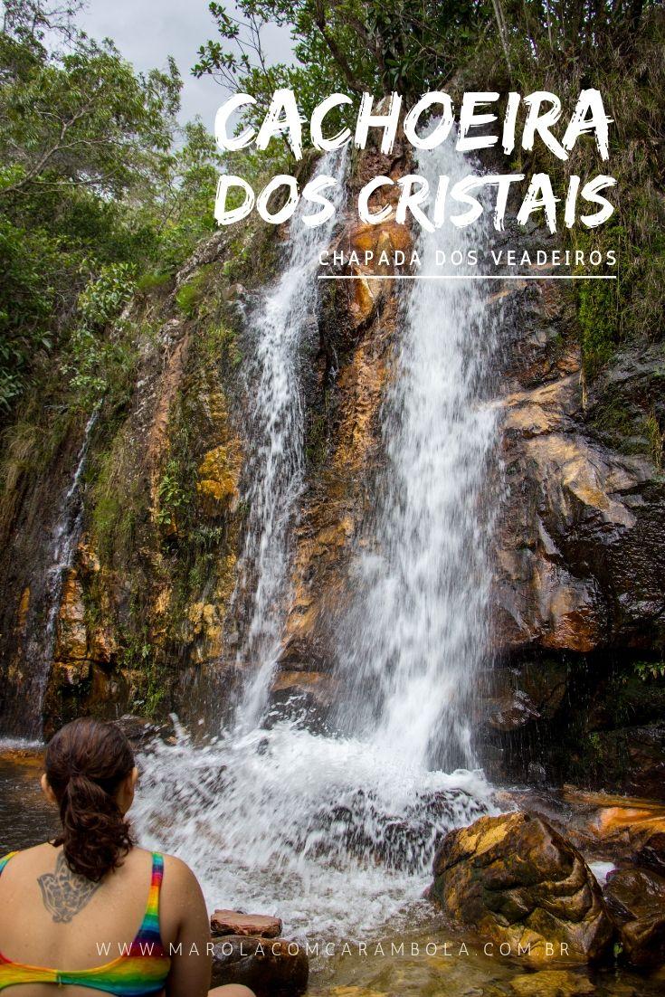 A Cachoeira dos Cristais, na Chapada dos Veadeiros, é um complexo com 7 belíssimas cachoeiras e uma ótima opção para quem esta em Alto Paraíso de Goiás.