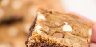 Receita de Brownie com Cookie