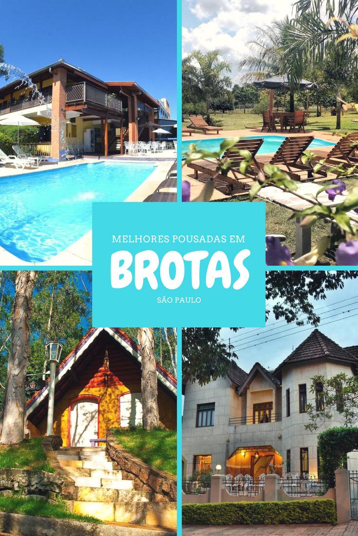 Pousadas em Brotas - Confira as melhores opções da cidade, para curtir com a família, com os filhos, com os amigos e até em clima romântico.