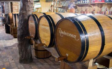 Adega Casarão - Toneis de madeira para envelhecimento das cachaças