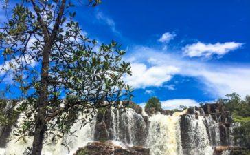 Catarata dos Couros – Cachoeira Muralha dos Couros