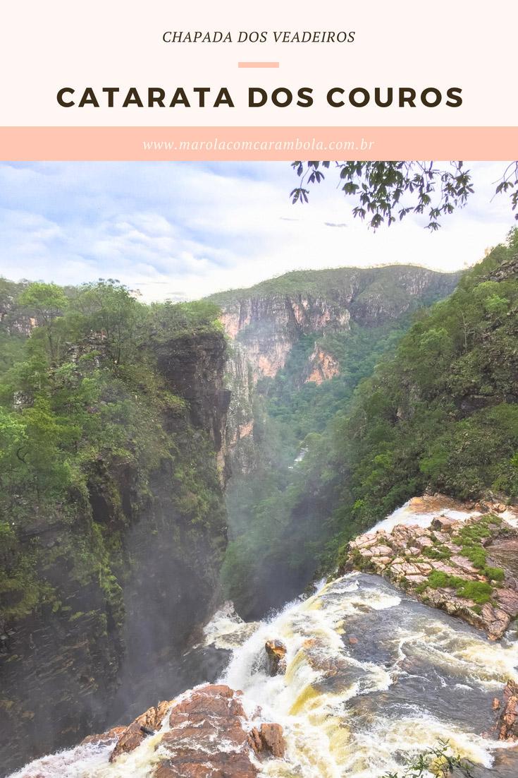 Catarata dos Couros – As cachoeiras com quedas de 100 metros de altura que impressionam na Chapada dos Veadeiros - Goiás.
