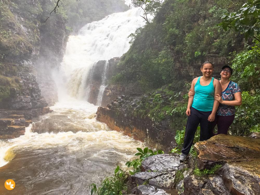 Cachoeiras com quedas de 100 metros de altura!