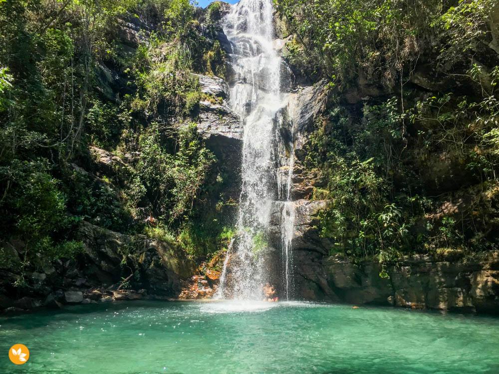 A Cachoeira Santa Bárbara é Bárbara!