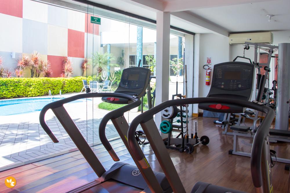 Academia do Hotel em Cuiabá