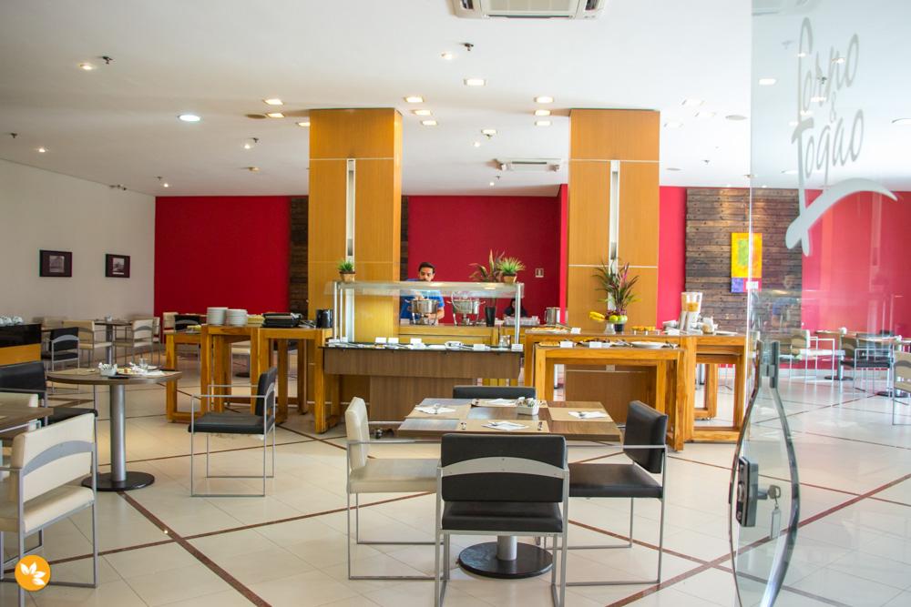 Restaurante do Hotel em Cuiabá