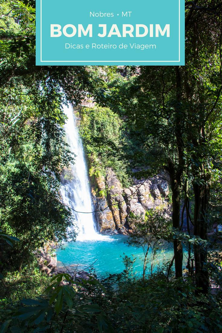 Bom Jardim no distrito de Nobres (MT) é perfeita para fãs de ecoturismo e quem curte flutuações em rios cristalinos e com nascentes esverdeadas.