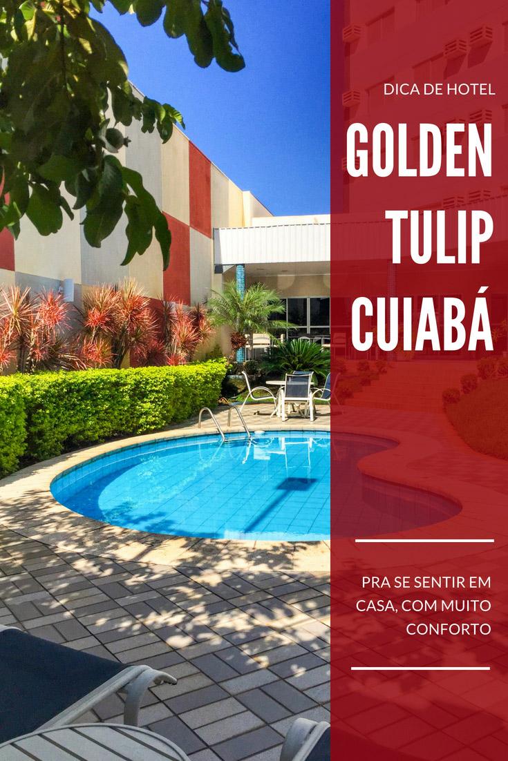Dica de Hotel em Cuiabá - O Golden Tulip Cuiabá tem uma ótima localização, perto do centro histórico, do Aeroporto e diversos pontos turísticos da cidade.