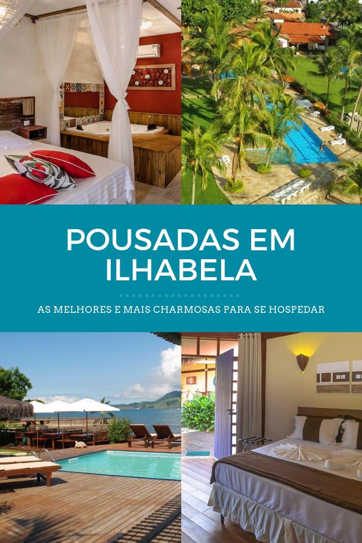 Pousadas em Ilhabela: seleção com o que há de melhor para você se hospedar em Ilhabela, no Litoral Norte de São Paulo. Escolha o que combina sua viagem!