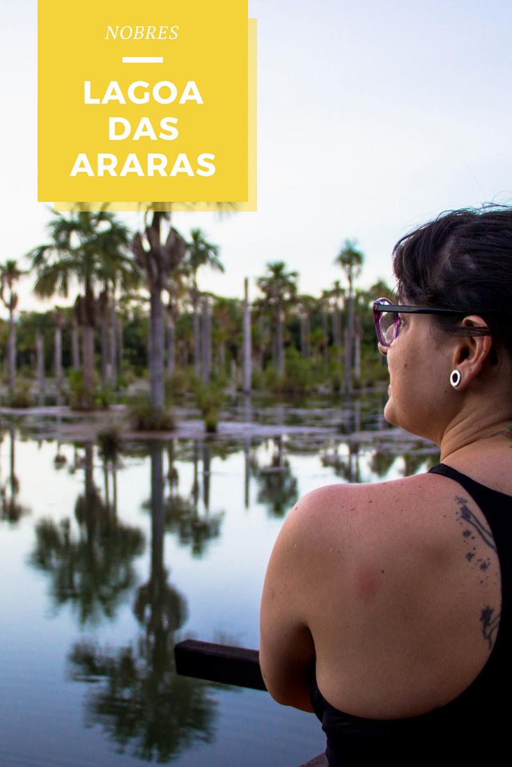A Lagoa das Araras é um ótimo lugar para contemplar o pôr do sol de Nobres - Bom Jardim. Observação de araras, periquitos, apagaios e outras aves da região.