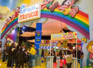 Parque da Mônica - diversão para crianças em São Paulo