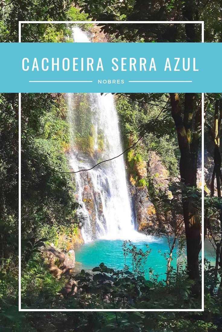 A Cachoeira Serra Azul é conhecida como um dos principais cartões postais de Nobres. Lá é possível fazer flutuação, tirolesa e arvorismo.