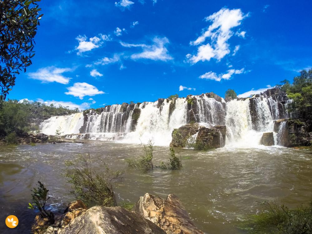 Cachoeiras da Chapada dos Veadeiros - Catarata dos Couros