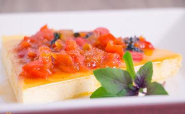 Receita de Torta de Ricota com Geleia Caseira de Pimentão Vermelho